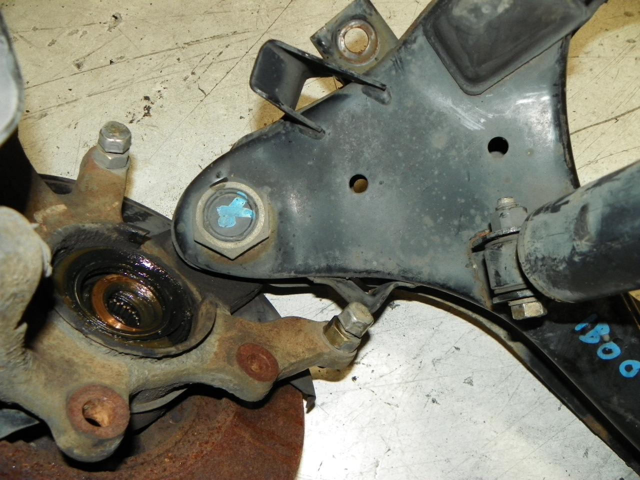 Rusted, Worn-Out Parts, Courtesy of State Farm
